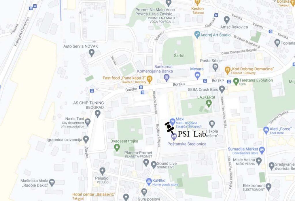 PSI Lab adresa